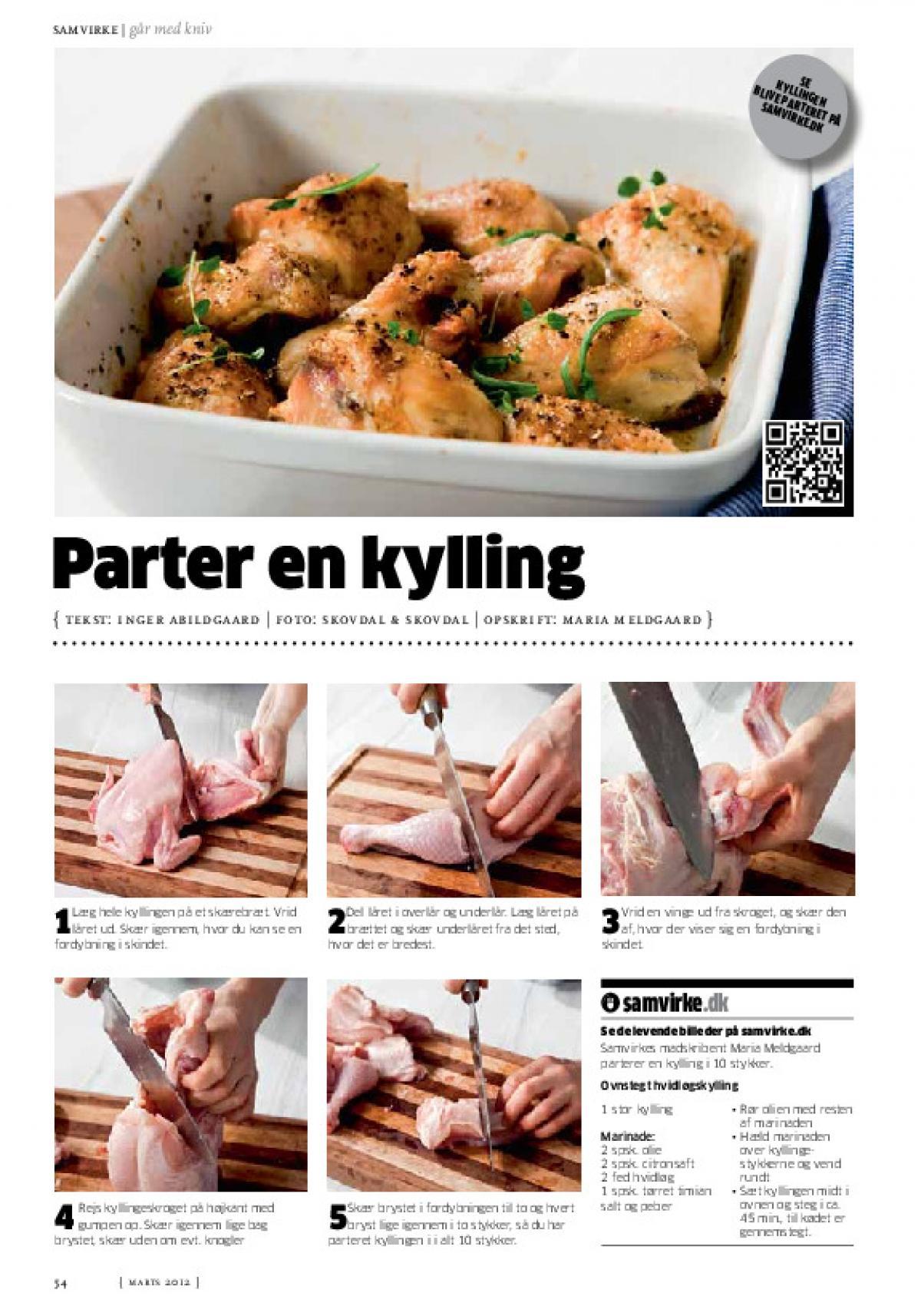 parter kylling