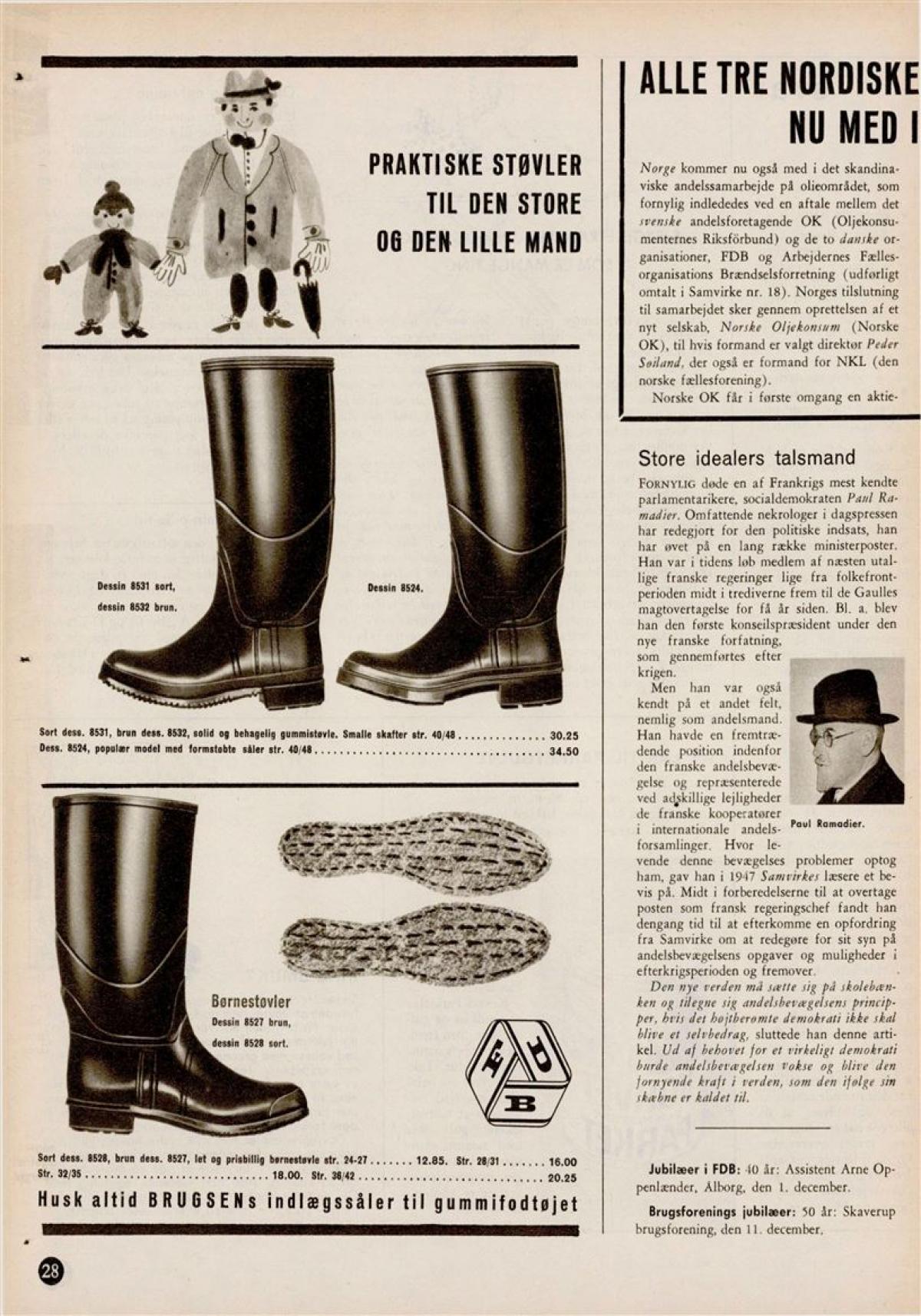 Samvirke | Praktiske støvler til den store og den lille mand